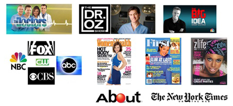 Greensations featured by Dr. Oz, the Doctors, Good Housekeeping and more.