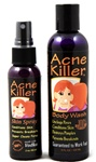 Acne Killer Cleanser and Toner Skincare System