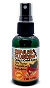 Sinus plumber Hot Pepper Capsaicin Sore Throat Cough and Cold Spray