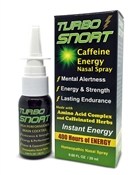 Turbo Snort Caffeine Energy Nasal Spray with Amino Acids