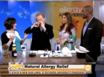Capsaicin nasal spray on ABC Morning Show