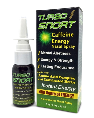 Caffeine spray